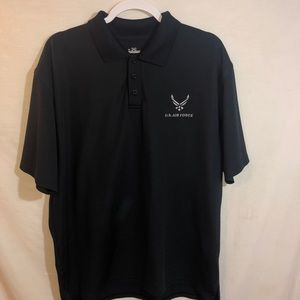 Under Armour U.S. Airforce Mens Large Polo